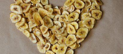 צ'יפס בננה קינמון